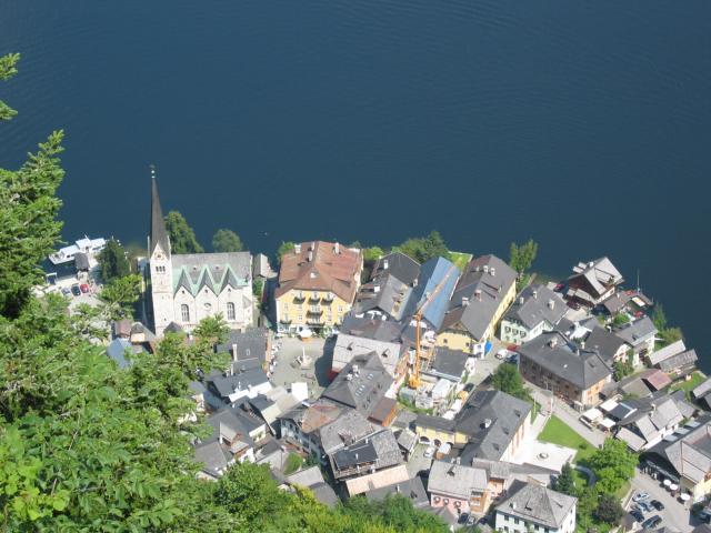 Foto: pepi4813 / Wander Tour / Plassen von Hallstatt / Tiefblick auf Hallstatt / 18.07.2009 18:40:30