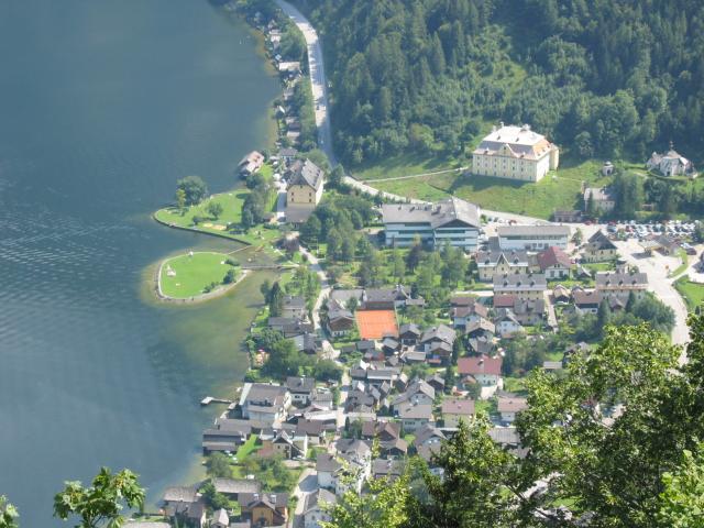 Foto: pepi4813 / Wander Tour / Plassen von Hallstatt / Tiefblick auf Hallstatt-Lahn / 18.07.2009 18:40:18