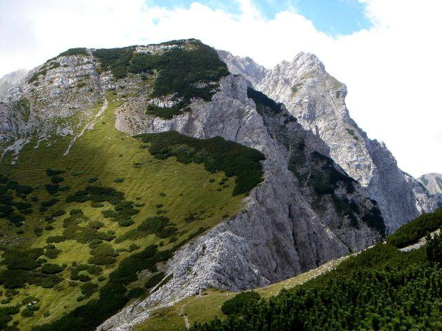 Foto: Manfred Karl / Wander Tour / Bielschitza - Normalweg / Blick gegen Edelweißspitzen - Klagenfurter Spitze / 05.06.2008 17:50:36