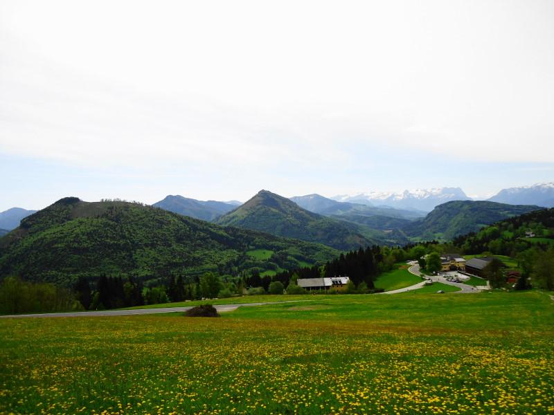 Foto: Günter Siegl / Wandertour / Vorderfager  - Rauchenbichlalm - Gaisberg / rechts Zistelalm, mittig Gurlspitze / 15.05.2015 14:59:11