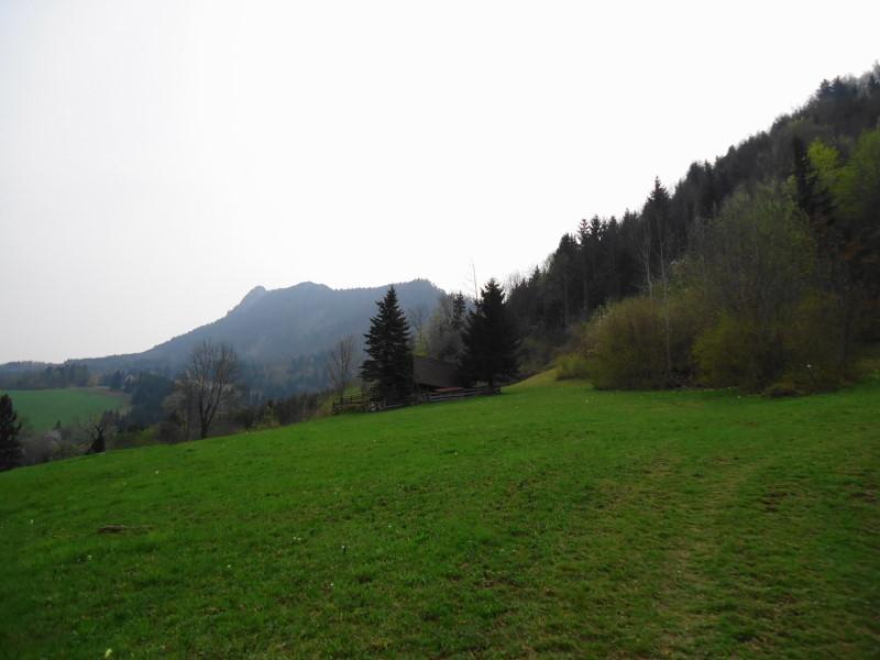 Foto: Günter Siegl / Wander Tour / Auf den Steinern Jäger und Schieferstein / Blick auf den Steinernen Jäger (links) / 20.04.2014 12:08:55