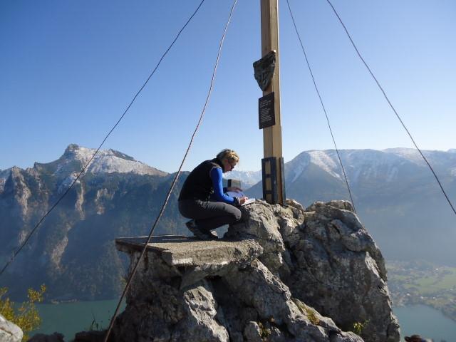 Foto: Günter Siegl / Wander Tour / Sonnsteinüberschreitung / Gr. Sonnstein / 23.10.2011 21:05:33
