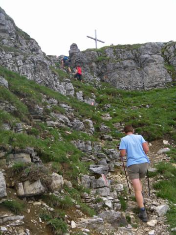 Foto: Wolfgang Lauschensky / Wander Tour / Aus dem Rißbachtal auf den Schafreuter (Scharfreiter) / Scharfreitergipfel / 24.06.2012 20:23:45