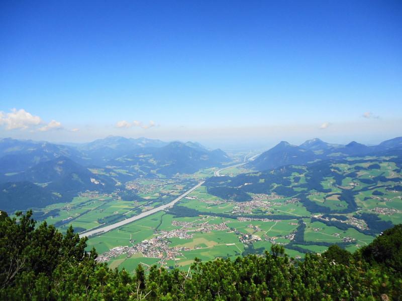Foto: Günter Siegl / Wander Tour / Von Kufstein auf die Pyramidenspitze / 22.07.2016 17:44:59