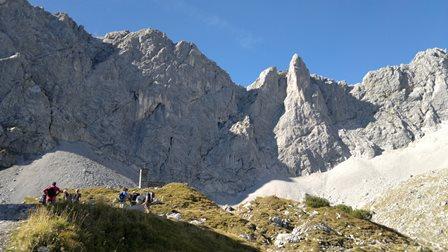 Foto: goldengel80 / Wander Tour / Lamsenspitze vom Großen Ahornboden / 29.09.2014 20:56:15