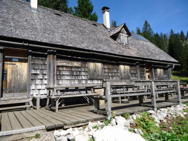 Foto: Günter Siegl / Wander Tour / Über die Feichtau auf den Hohen Nock / Feichtauhütte (unbewirtschaftet) / 17.09.2012 21:06:57