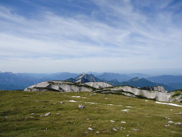 Foto: Günter Siegl / Wandertour / Über die Feichtau auf den Hohen Nock / Sengsengebirge Richtung Westen / 17.09.2012 21:03:17
