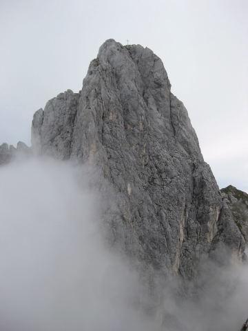 Foto: Wolfgang Lauschensky / Wander Tour / Normalweg auf den Gimpel / Gimpelsüdwand von der Roten Flüh / 19.11.2011 18:28:33