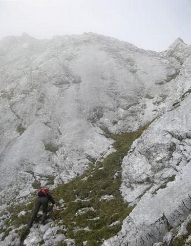Foto: Wolfgang Lauschensky / Wander Tour / Normalweg auf den Gimpel / Südrinne / 19.11.2011 17:50:12