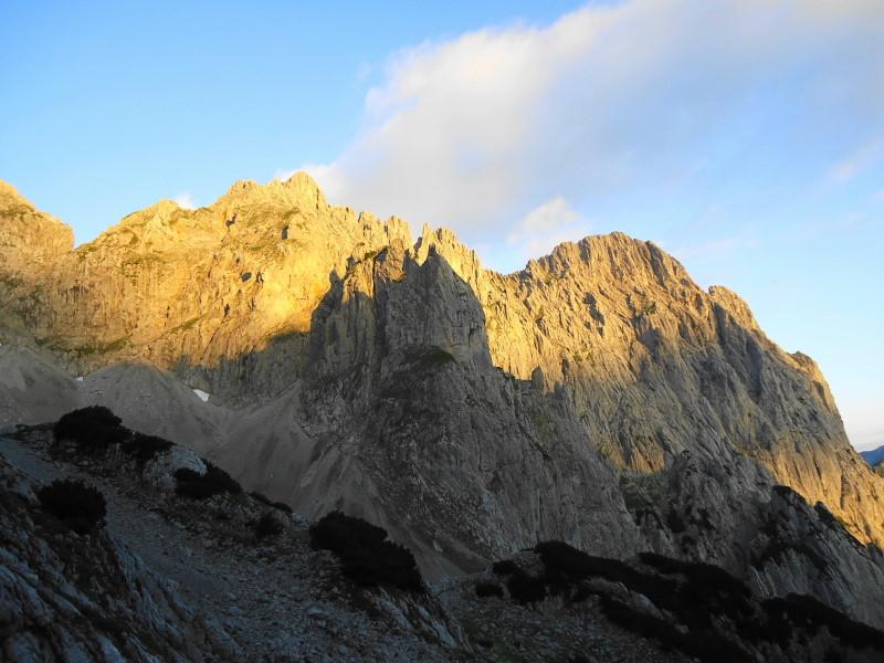 Foto: Günter Siegl / Wander Tour / Von Norden auf die Ackerlspitze / 10.08.2016 20:21:49