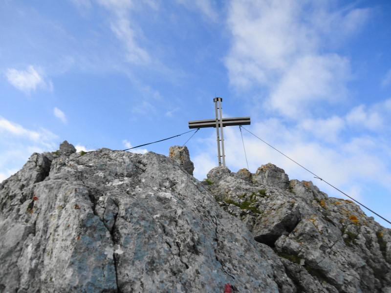 Foto: Günter Siegl / Wander Tour / Von Norden auf die Ackerlspitze / Gipfel Ackerlspitze / 10.08.2016 19:59:20