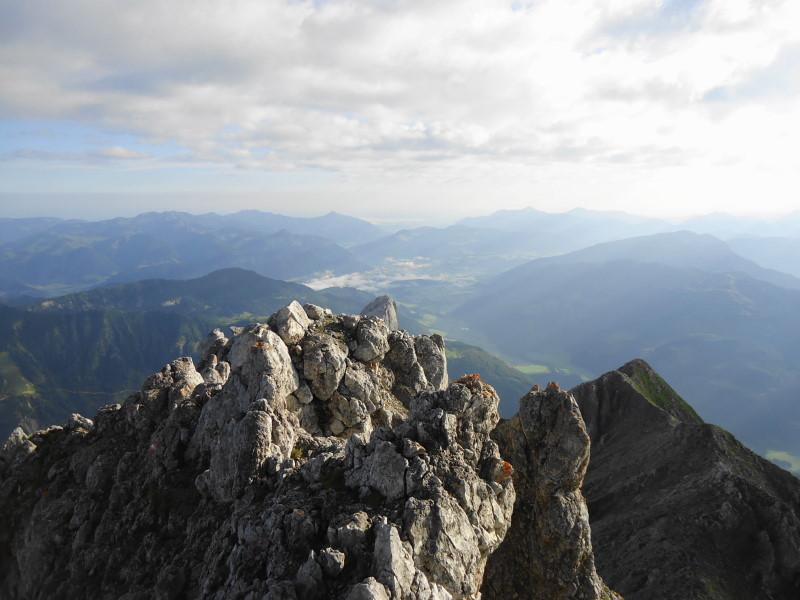 Foto: Günter Siegl / Wander Tour / Von Norden auf die Ackerlspitze / Gipfel Ackerlspitze / 10.08.2016 19:59:00
