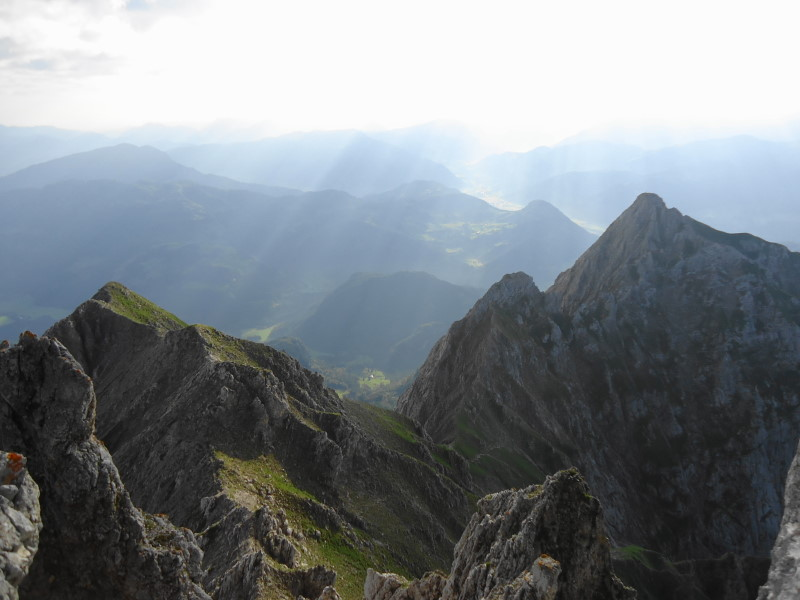 Foto: Günter Siegl / Wander Tour / Von Norden auf die Ackerlspitze / Gratverlauf zur Maukspitze / 10.08.2016 19:58:32