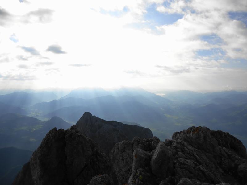Foto: Günter Siegl / Wander Tour / Von Norden auf die Ackerlspitze / Blick nach Osten in die Steinberge / 10.08.2016 19:53:38