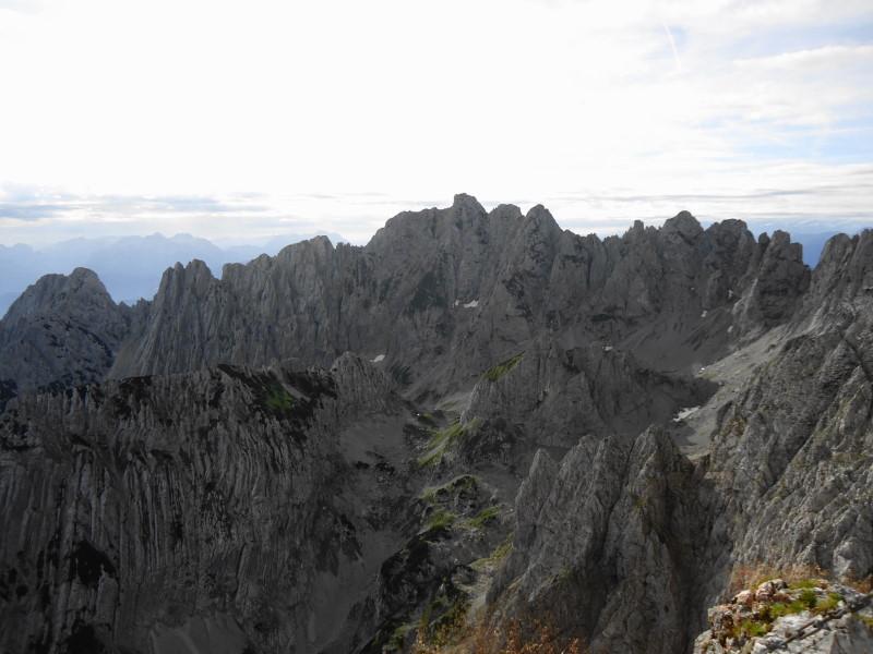 Foto: Günter Siegl / Wander Tour / Von Norden auf die Ackerlspitze / Ackerlspitze in Bildmitte (Aufnahme von der Vorderen Goinger Halt) / 10.08.2016 20:24:59