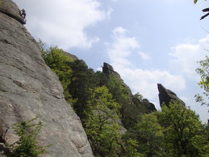 Foto: Wolfgang Dröthandl / Wander Tour / Vogelberg-Schloßberg - Runde / Ein beliebtes Kletterevier... / 08.05.2017 09:37:46