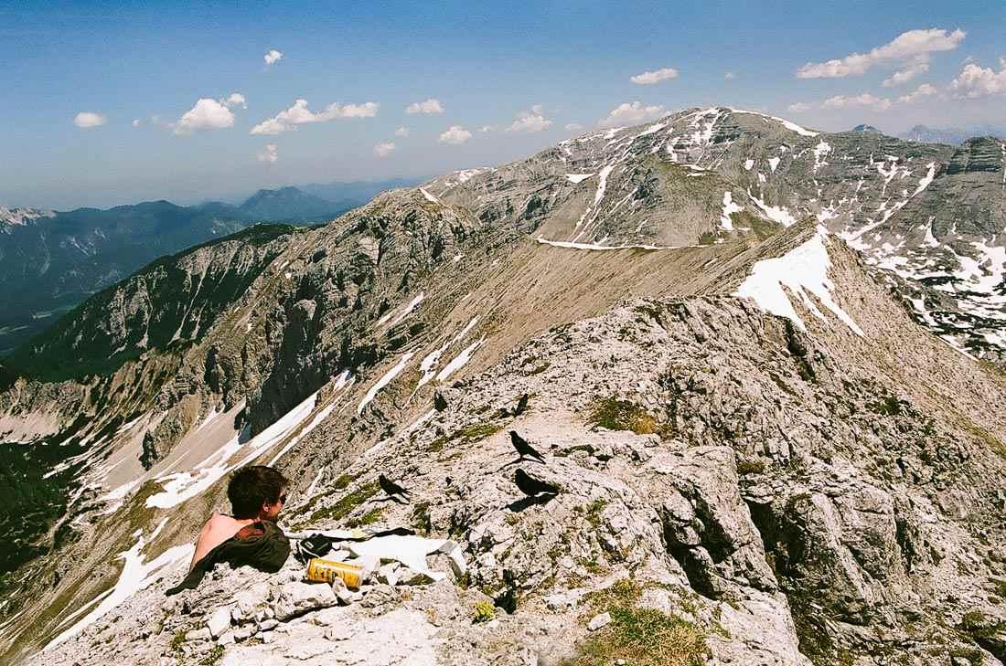 Foto: saljur / Wander Tour / Schrocken N-Grat / Blick vom Gipfel nach Osten / 25.06.2014 12:21:46