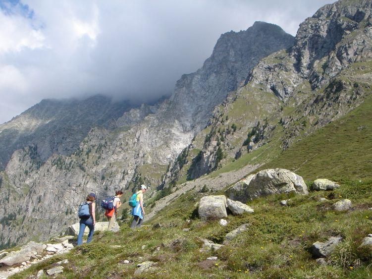 Foto: Manfred Karl / Wandertour / Almerhornrunde / Aufstieg im mittleren Teil / 03.06.2008 16:21:59
