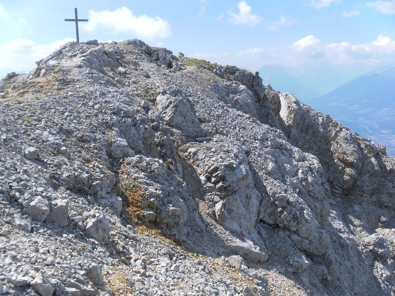 Foto: Wolfgang Lauschensky / Wandertour / Durch das Hinterautal zur Speckkarspitze / NW-Grat / 02.07.2017 13:41:11