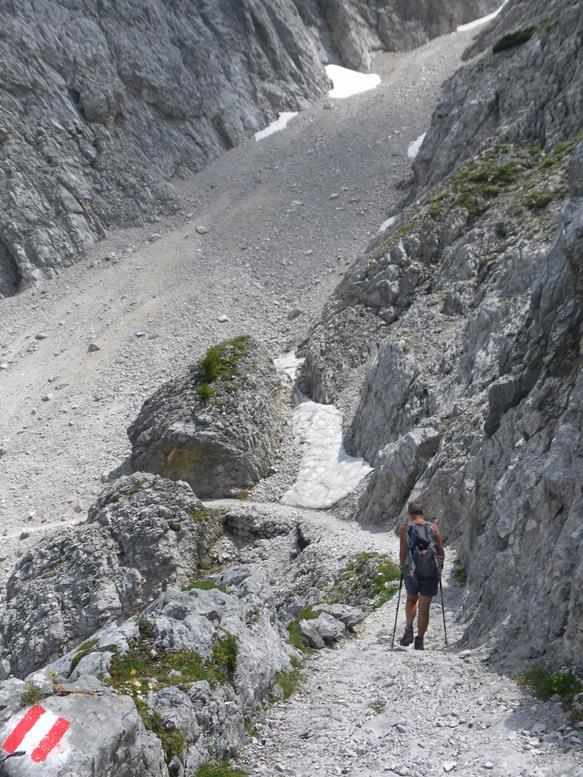 Foto: Wolfgang Lauschensky / Wandertour / Durch das Hinterautal zur Speckkarspitze / Durchschlag / 02.07.2017 13:40:44