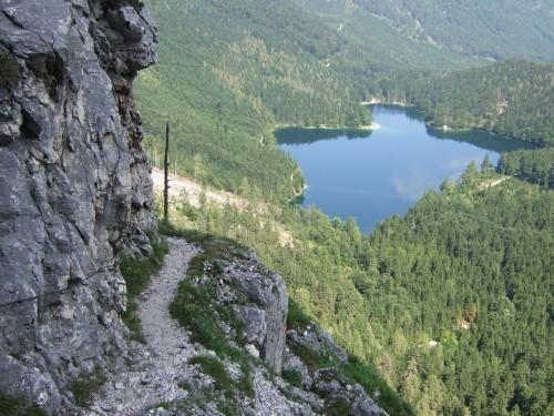 Foto: hofchri / Wander Tour / Brunnkogel-Rundtour über Schafluckensteig / seit 2008 wieder geöffnet - trotzdem, hohe Steinschlaggefahr / 30.09.2009 20:13:37
