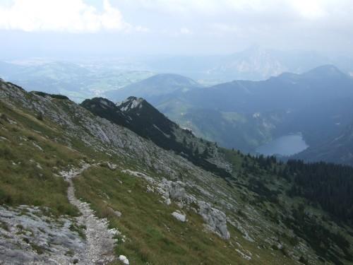 Foto: hofchri / Wander Tour / Brunnkogel-Rundtour über Schafluckensteig / der Anstieg zum Gipfel zieht sich / 30.09.2009 20:14:29