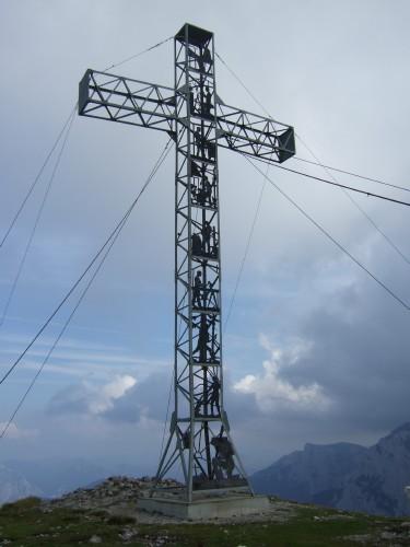 Foto: hofchri / Wander Tour / Brunnkogel-Rundtour über Schafluckensteig / tolles Gipfelkreuz / 30.09.2009 20:14:45
