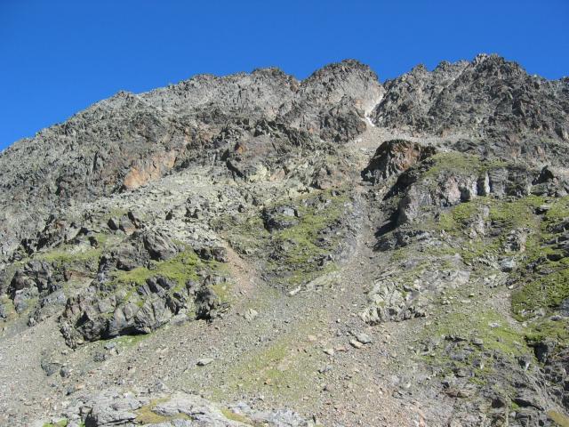 Foto: pepi4813 / Wander Tour / Von der Wangenitzseehütte auf das Petzeck / Aufstieg zum Petzeck / 13.08.2009 10:03:40