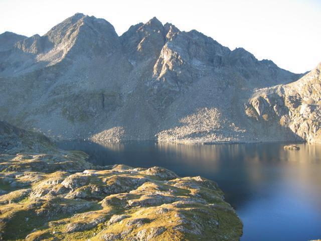 Foto: pepi4813 / Wander Tour / Von der Wangenitzseehütte auf das Petzeck / Am Wangenitzsee / 13.08.2009 09:58:43