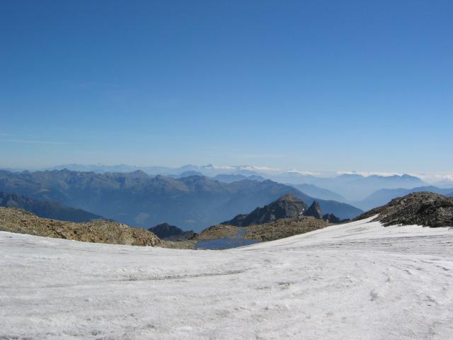 Foto: pepi4813 / Wander Tour / Von der Wangenitzseehütte auf das Petzeck / Petzeckkees / 13.08.2009 10:08:35