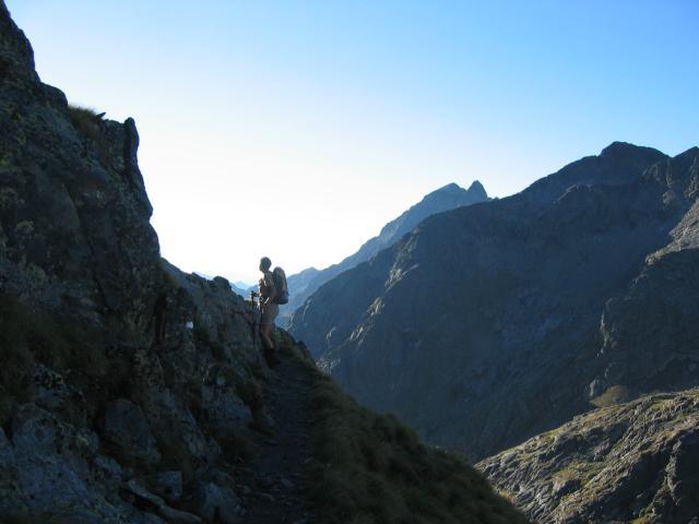 Foto: pepi4813 / Wander Tour / Von der Wangenitzseehütte auf das Petzeck / Aufstiegsweg nahe der Wangenitzseehütte / 13.08.2009 09:59:06