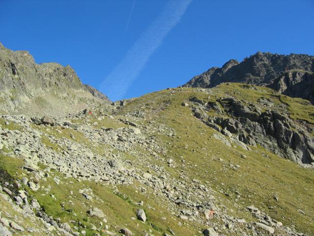 Foto: pepi4813 / Wander Tour / Von der Wangenitzseehütte auf das Petzeck / Aufstieg zum Petzeck / 13.08.2009 10:01:05