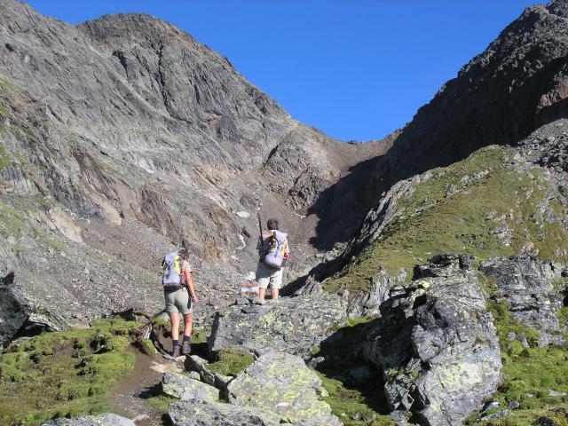 Foto: pepi4813 / Wander Tour / Von der Wangenitzseehütte auf das Petzeck / Aufstieg zum Petzeck / 13.08.2009 10:02:07