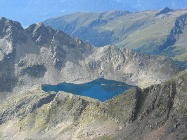 Foto: pepi4813 / Wander Tour / Von der Wangenitzseehütte auf das Petzeck / Noch ein Blick zum See / 13.08.2009 10:02:26