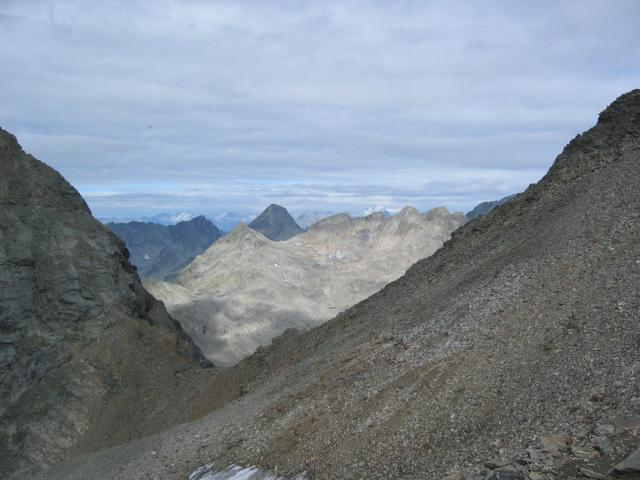 Foto: pepi4813 / Wander Tour / Von der Wangenitzseehütte auf das Petzeck / Blick zum Glödis / 13.08.2009 10:02:52