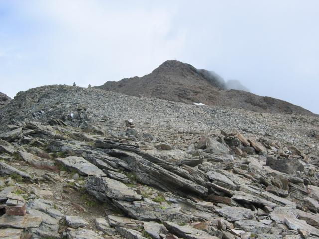 Foto: pepi4813 / Wander Tour / Von der Wangenitzseehütte auf das Petzeck / Gipfel in Sicht / 13.08.2009 10:05:41