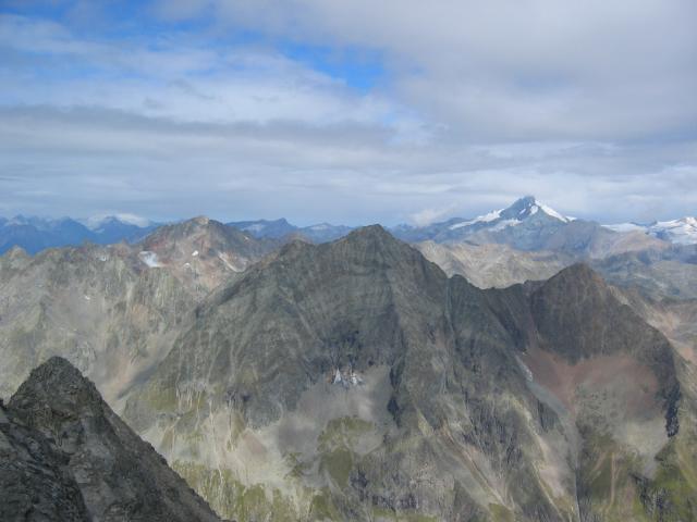 Foto: pepi4813 / Wander Tour / Von der Wangenitzseehütte auf das Petzeck / Blick zum Grossglockner / 13.08.2009 10:06:39