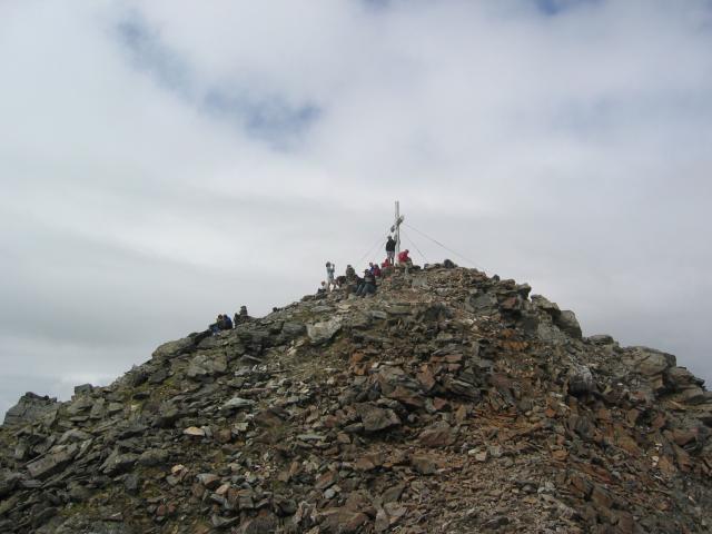 Foto: pepi4813 / Wander Tour / Von der Wangenitzseehütte auf das Petzeck / Gipfel / 13.08.2009 10:06:52