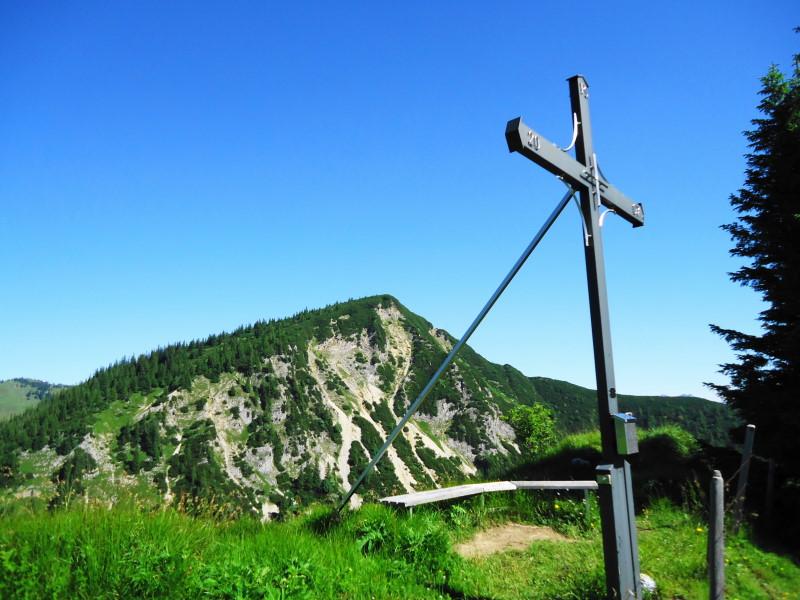 Foto: Günter Siegl / Wander Tour / Vom Walchsee auf den Breitenstein / Breitenstein (Aufnahme vom Karkopf) / 15.07.2016 21:46:50