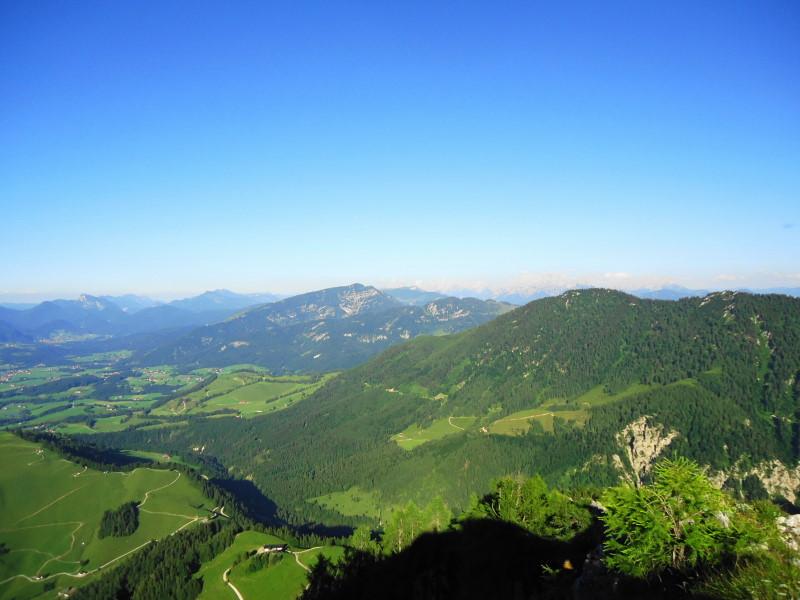 Foto: Günter Siegl / Wandertour / Vom Walchsee auf den Heuberg / Unterberghorn, im Hintergrund die Steinberge / 22.07.2016 16:48:55