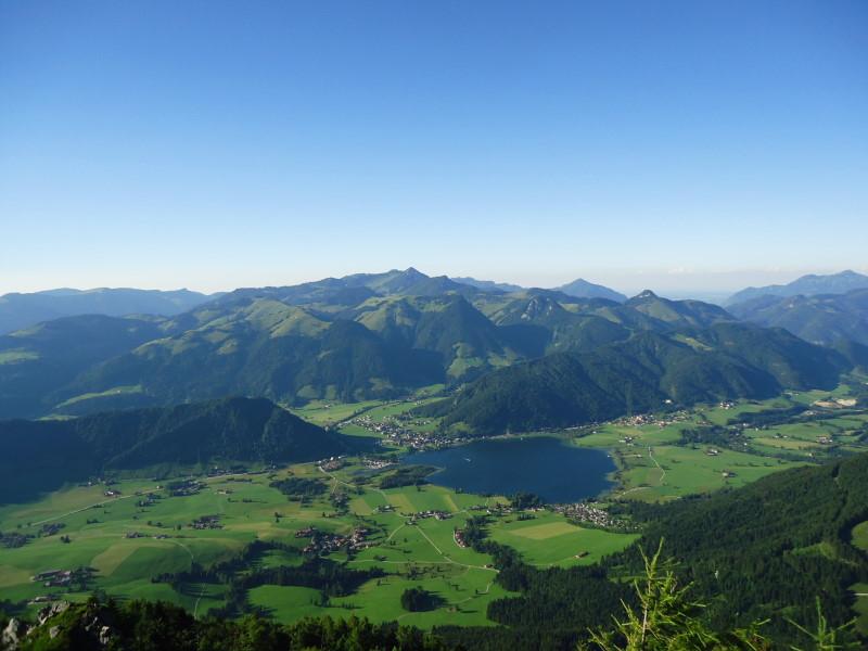 Foto: Günter Siegl / Wandertour / Vom Walchsee auf den Heuberg / Walchsee und Geigelstein / 22.07.2016 16:48:22