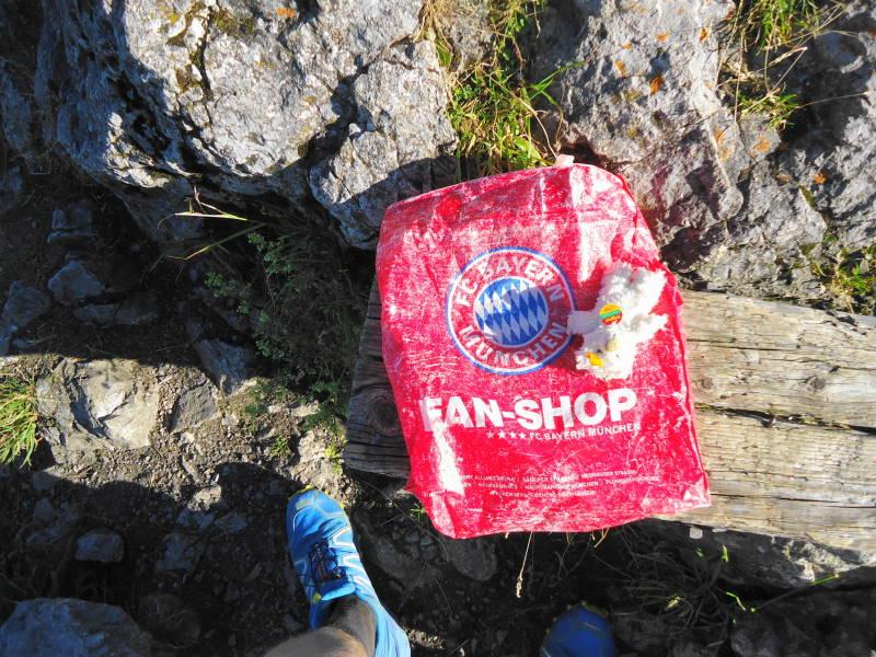 Foto: Günter Siegl / Wandertour / Vom Walchsee auf den Heuberg / Gipfelbuchsackerl / 22.07.2016 16:47:54