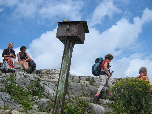 Foto: elipes / Wander Tour / Vom Spitzingsee auf den Aiplspitz / Auf der Aiplspitze / 09.08.2009 22:00:19