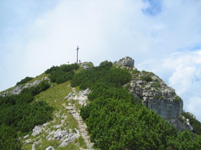 Foto: elipes / Wander Tour / Vom Spitzingsee auf den Aiplspitz / Aiplspitze / 09.08.2009 21:59:42