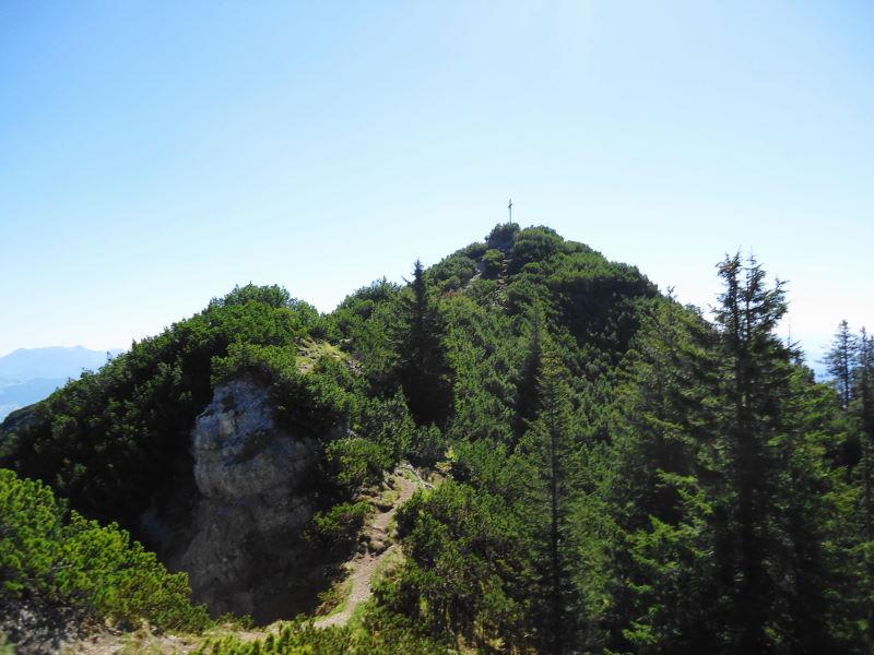 Foto: Günter Siegl / Wander Tour / Vom Ursprungpaß zum Trainsjoch / Gipfelaufbau Trainsjoch / 05.06.2017 22:41:07