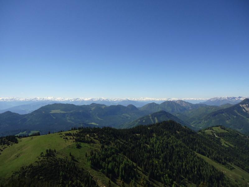 Foto: Günter Siegl / Wander Tour / Vom Ursprungpaß zum Trainsjoch / Hohe Tauern, davor Brandenberger Alpen / 05.06.2017 22:40:23