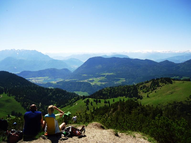 Foto: Günter Siegl / Wander Tour / Vom Ursprungpaß zum Trainsjoch / Blick zum Pendling / 05.06.2017 22:39:26