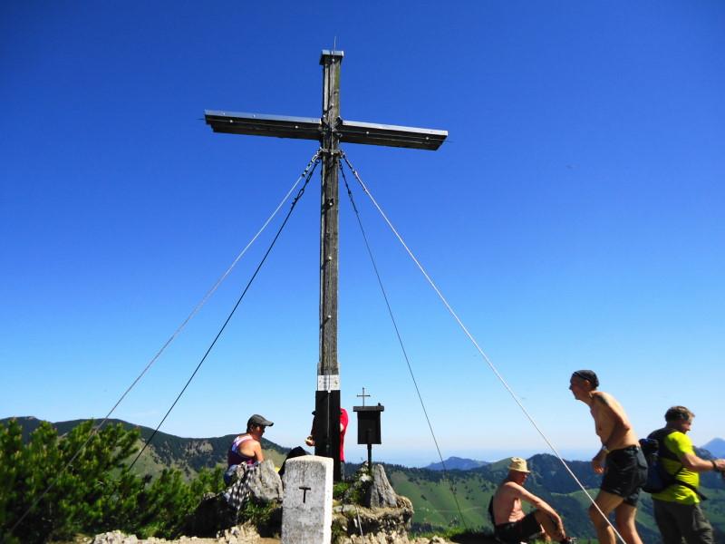 Foto: Günter Siegl / Wander Tour / Vom Ursprungpaß zum Trainsjoch / Gipfel Trainsjoch / 05.06.2017 22:38:47
