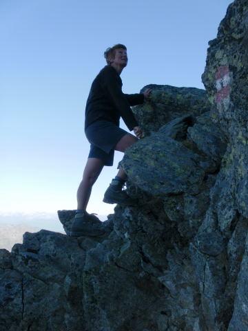 Foto: Wolfgang Lauschensky / Wander Tour / Hochgolling - über den NW-Grat / Start in den NW-Grat / 08.10.2011 16:22:25