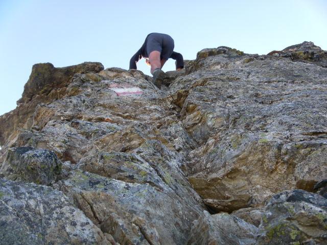 Foto: Wolfgang Lauschensky / Wander Tour / Hochgolling - über den NW-Grat / steil aber griffig (II) / 08.10.2011 16:21:14